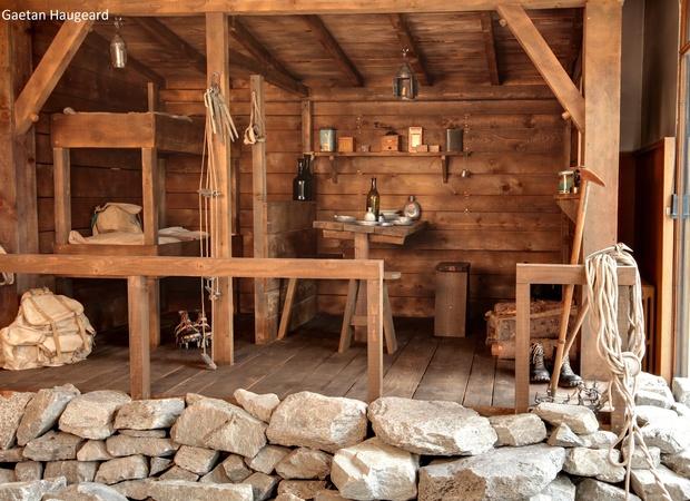 Musée Alpin Chamonix - refuge entrrée