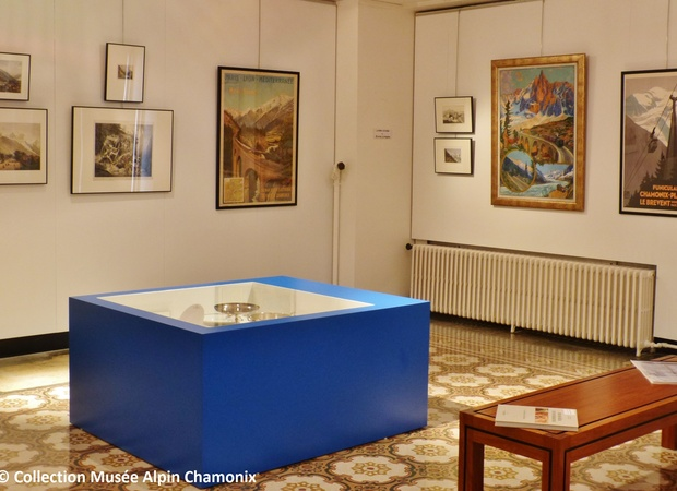 Musée Alpin Chamonix - salle repères métamorphose vallée