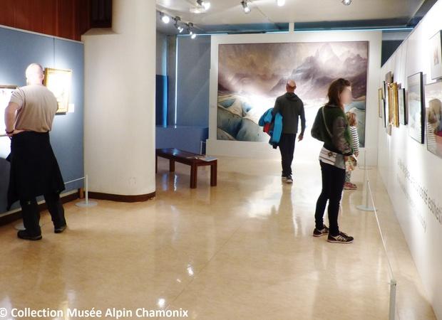 Musée Alpin Chamonix - salle mer de glace