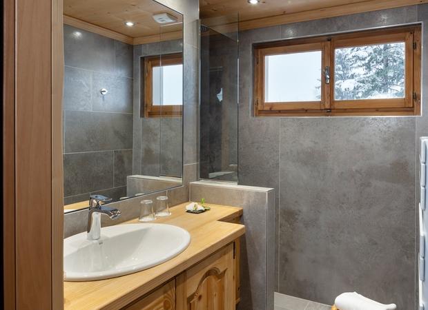 Salle de bain chambre supérieure d'angle au sud