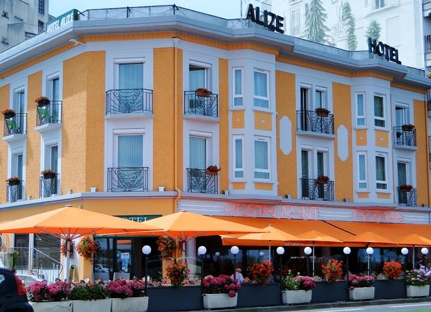 Hôtel Alizé façade