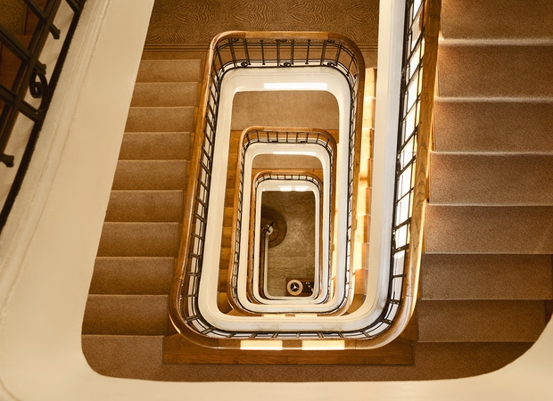Escalier - Golf Hôtel