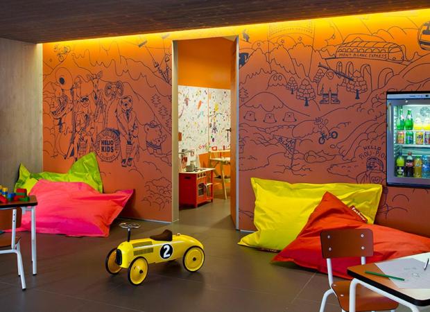 Héliopic Espace pour enfants