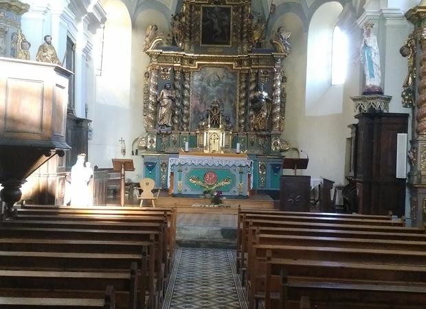 église St Barthélémy - Granier - Vallée de la Plagne