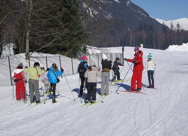 Ski de fond Esf Chamonix