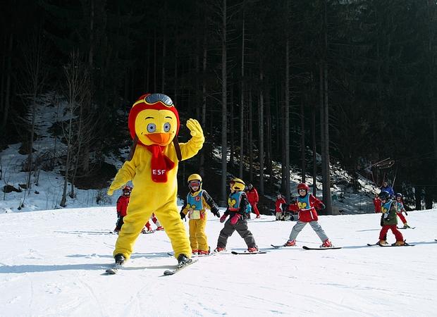 Ski enfants - Piou Piou - Esf chamonix