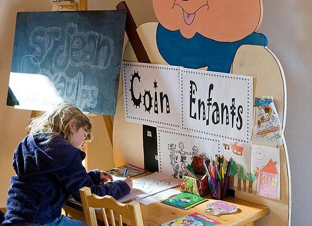 Espace enfants bureau d'accueil de Saint Jean d'Aulps