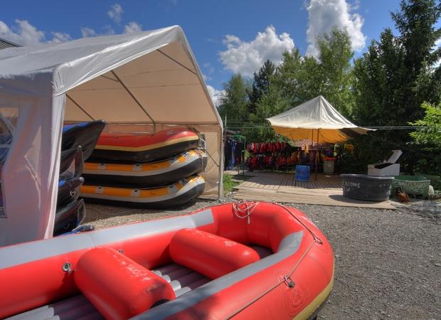 Base de Rafting de Passy