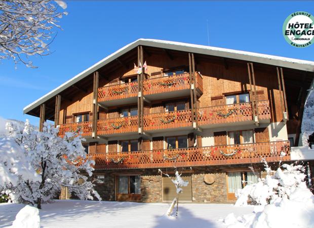 Résidence en hiver - Hôtel engagé sécurité sanitaire