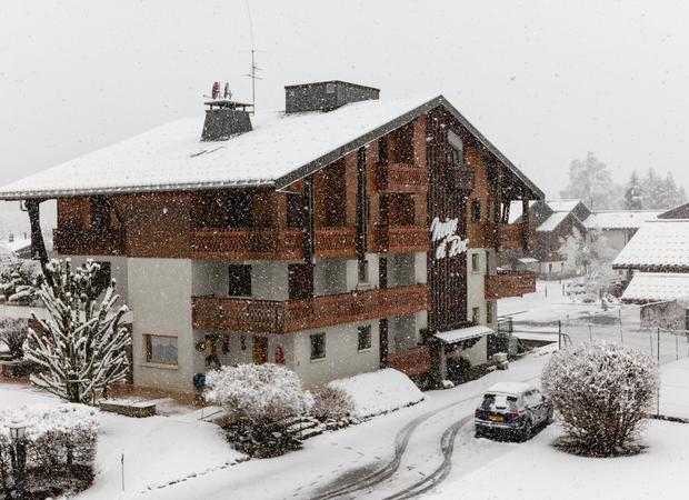 Façade résidence hiver