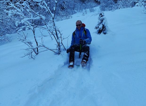 Snooc au Col du Corbier