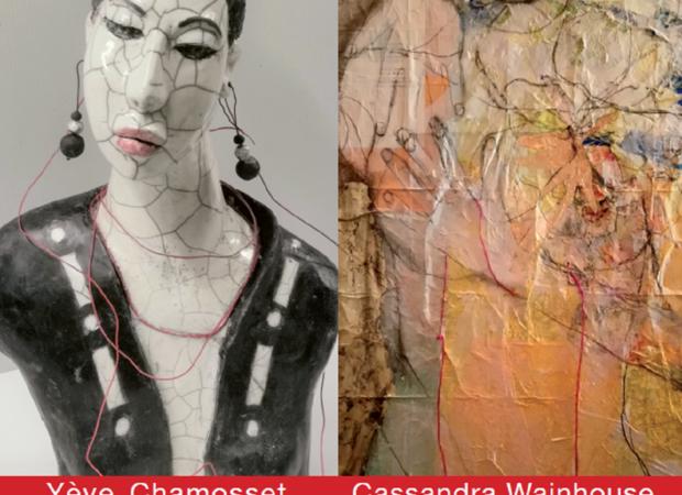 Exposition de Cassandra Wainhose et Yève Chamosset