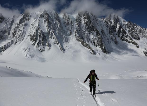 Ski de rando Bassin Argentiere