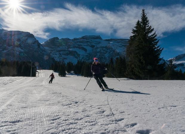 Ski à Mont-Saxonnex