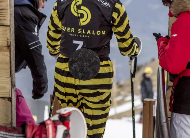 Départ du Super Slalom
