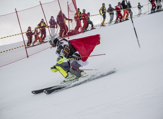 Descente du Super Slalom