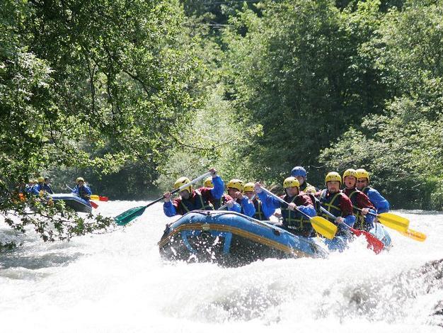 Rafting sur la Haute Isère avec Maxime