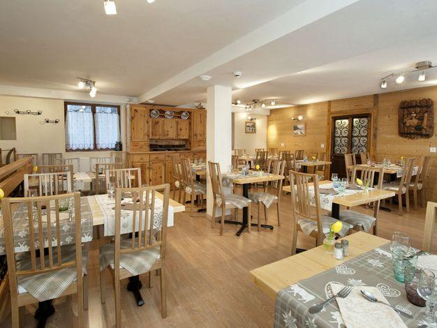 Salle de restaurant - Chalet de la Tarine
