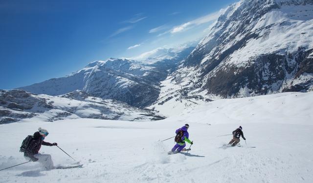 domaine alpin de Bonneval sur Arc