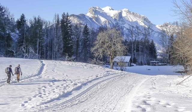 Ski nordique Les Combes Val de Tamié