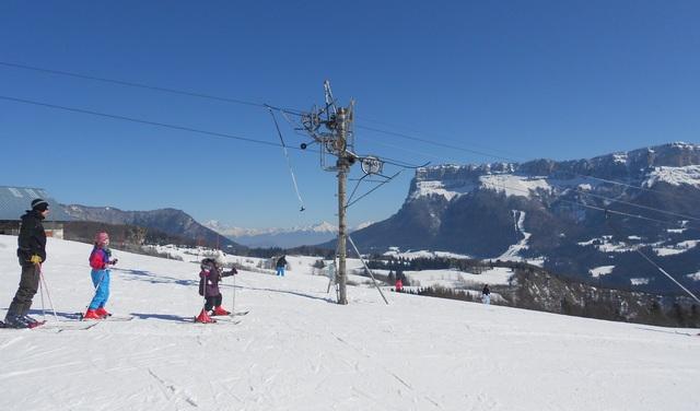 Station ski alpin - Le Désert d'Entremont
