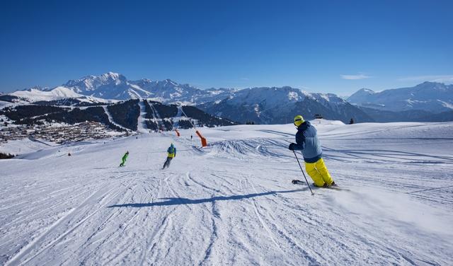 Ski alpin en famille