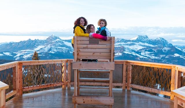 Balcon sur le Mont Blanc