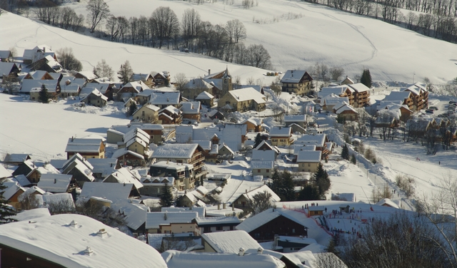 Saint Sorlin d'Arves sous la neige