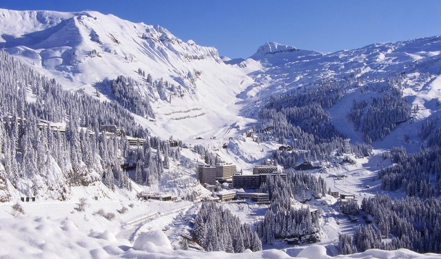 Flaine - station