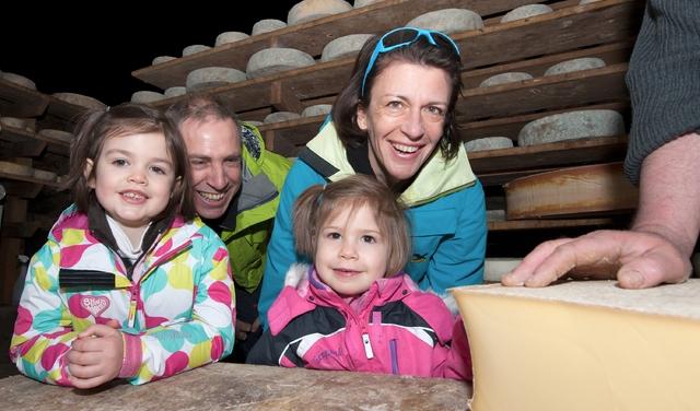 Visite coopérative laitière Haute Maurienne Vanoise