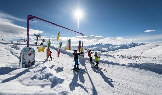 Snowpy Mountain piste ludique