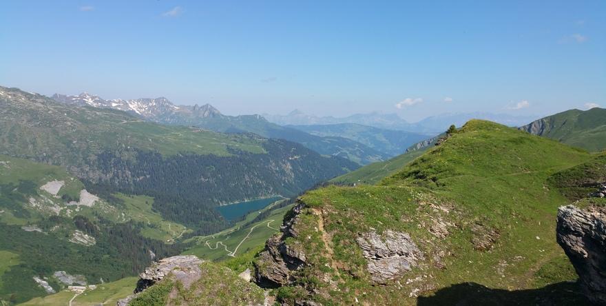 Sentier Croix du berger vallée de la Plagne
