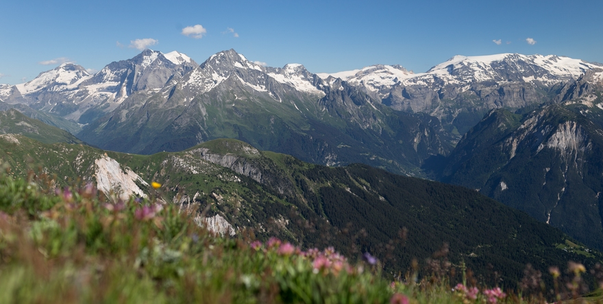 Sentier des Crêtes du Mont Jovet - Bozel