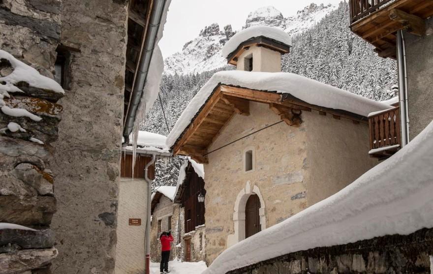 Pralognan-la-Vanoise - Hameau de la Croix