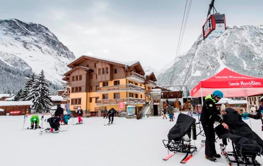 Pralognan-la-Vanoise - Front de neige