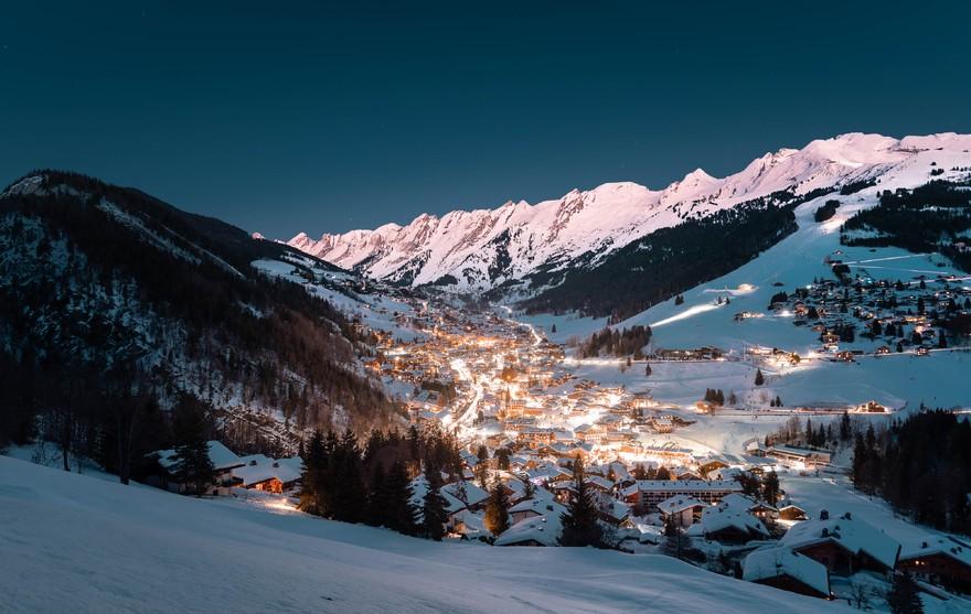 Village de nuit