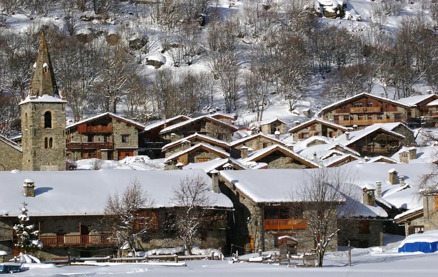 Vue du Village de Bonneval