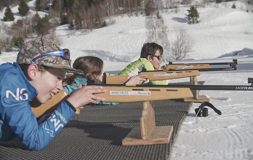 Stages biathlons kids