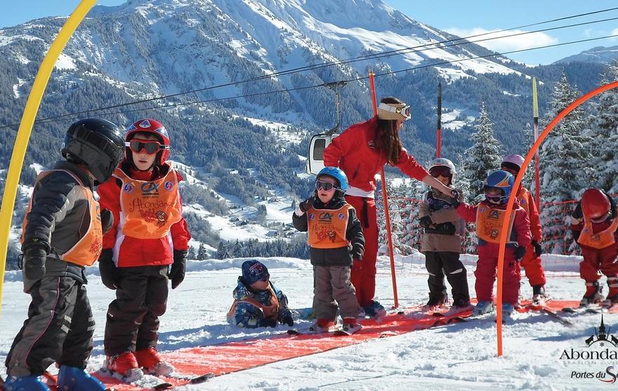 Cours de ski enfant débutant Piou Piou