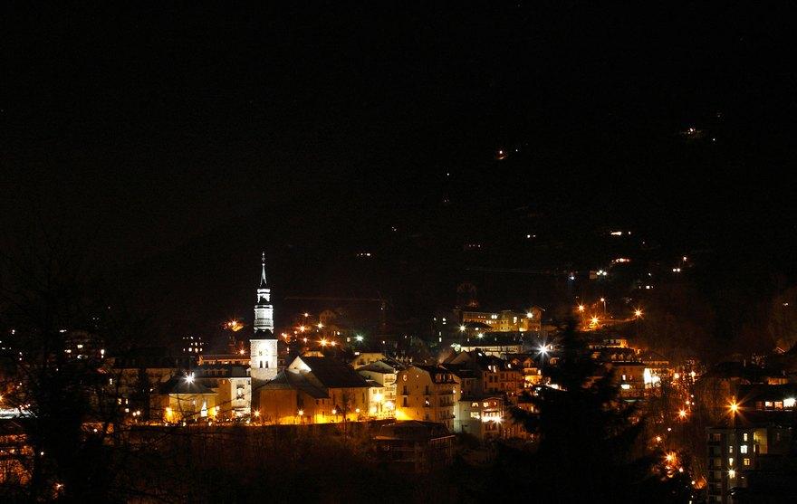 Saint-Gervais - Vue de nuit