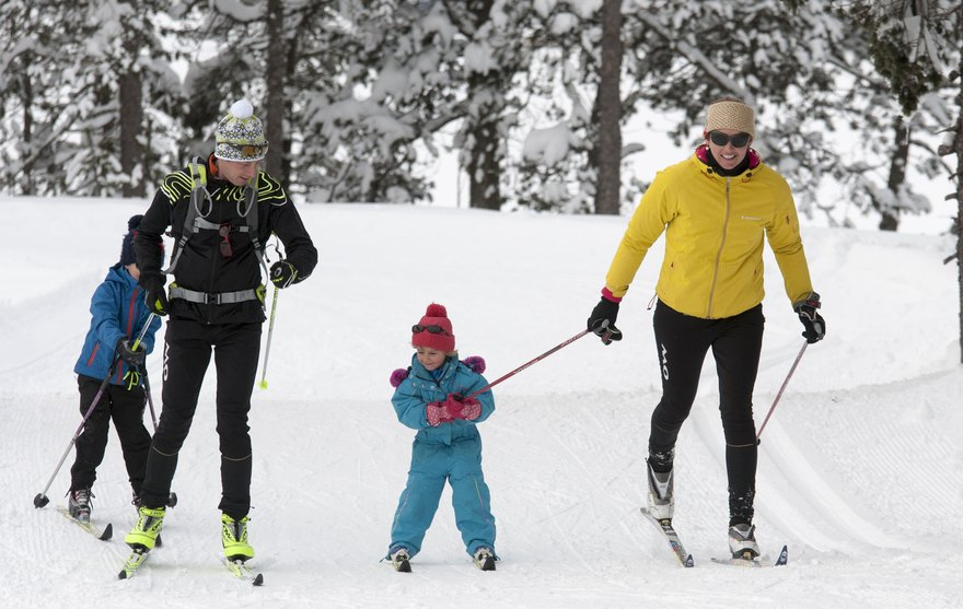 ski de fond Val de Tamié Les combes
