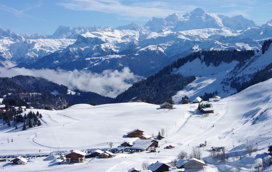 Domaine skiable alpin de Praz de Lys Sommand