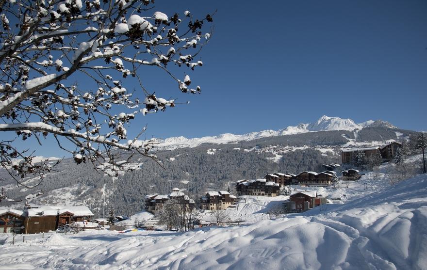 Montchavin village
