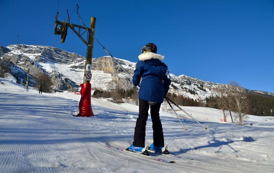 Ski à Chalet Neuf
