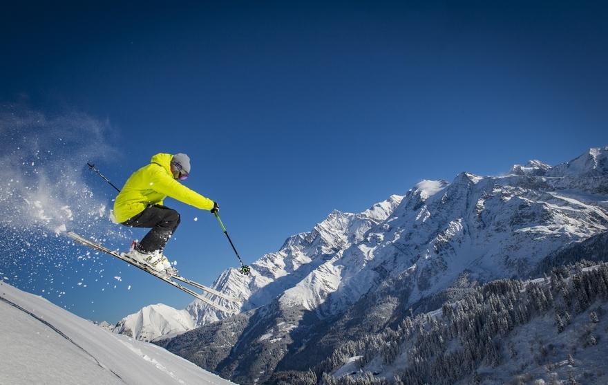 Contamines-Montjoie - Domaine skiable