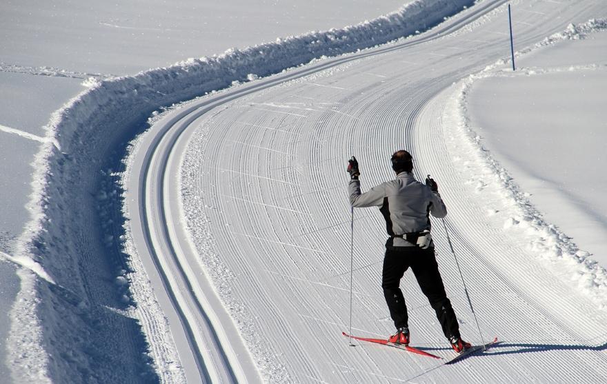 Skieur Plateau de Solaison