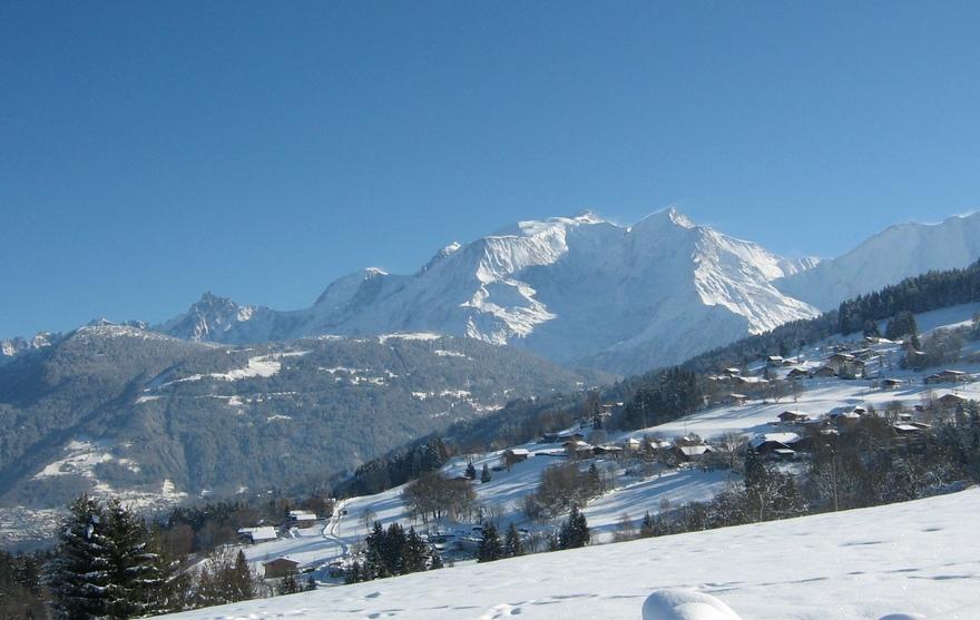 Mont Blanc enneigé