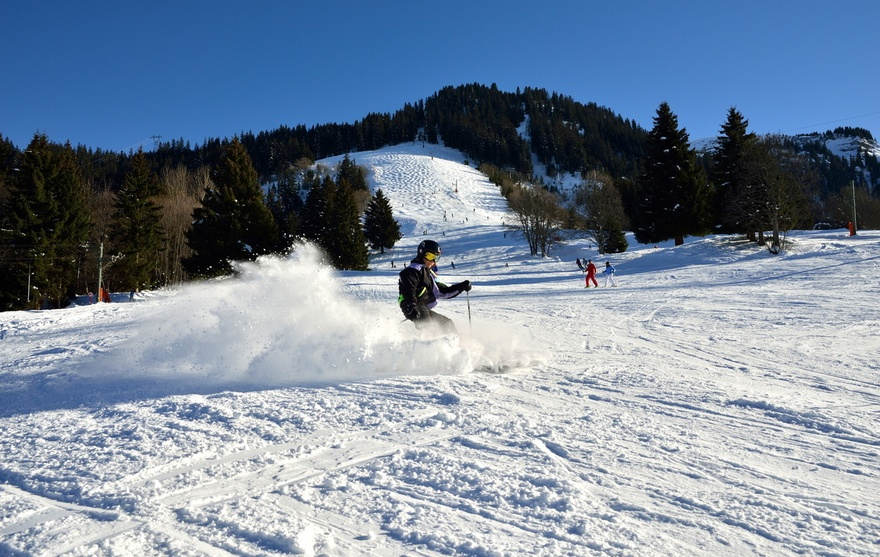 Ski à Romme
