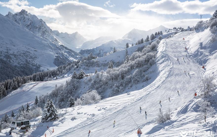Piste de ski Méribel