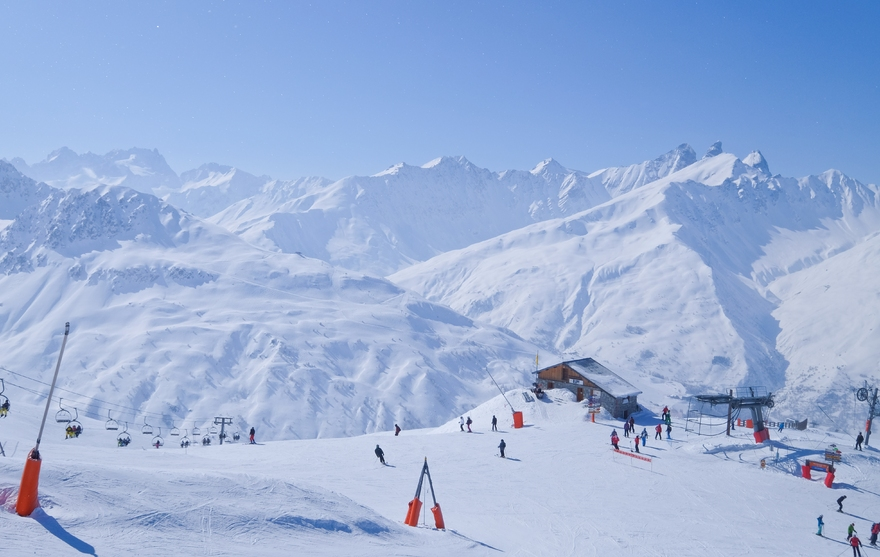 Valmeinier hiver 2018 piste